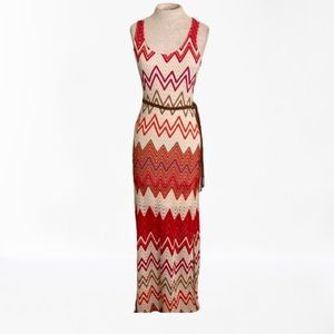 Sanctuary Chevron Crochet Dress Size XS